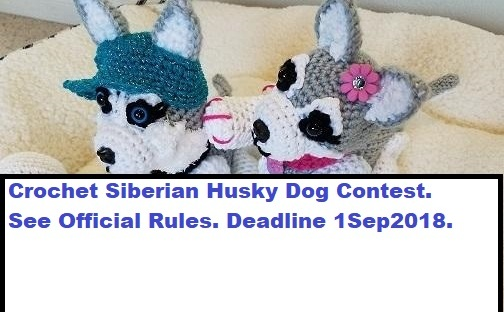 amigurumi dog - Siberian Husky | For more crochet projects, … | Flickr | 312x504
