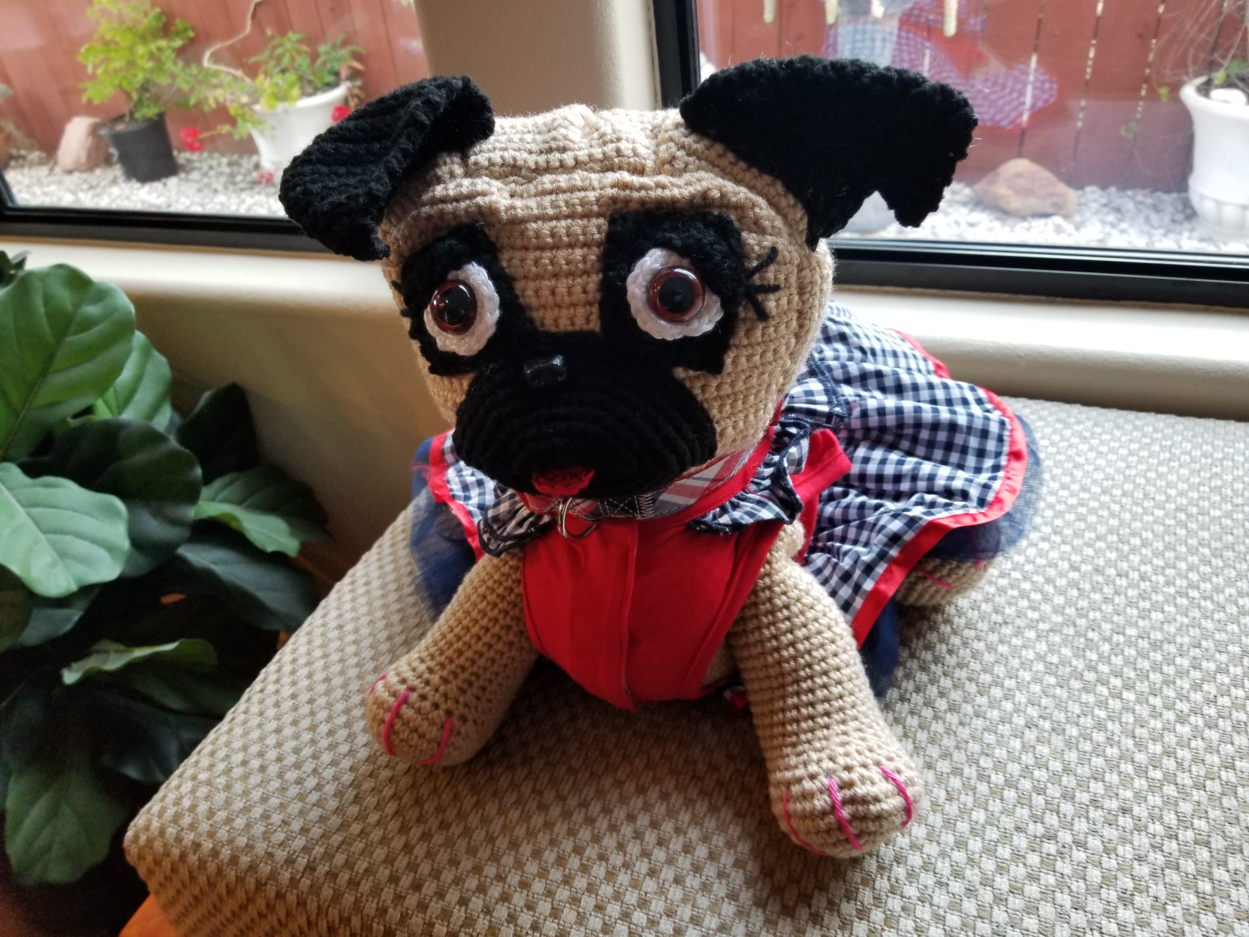 Pug Dog Crochet Pattern Lots Of Ideas Video Tutorial | 3024x4032