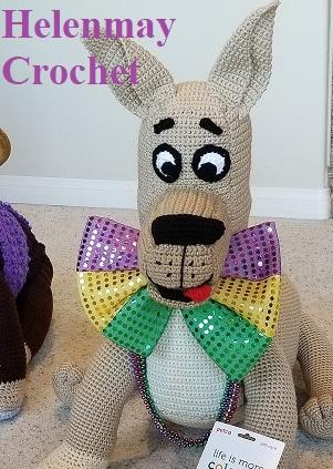 Great Dane Dog Crochet