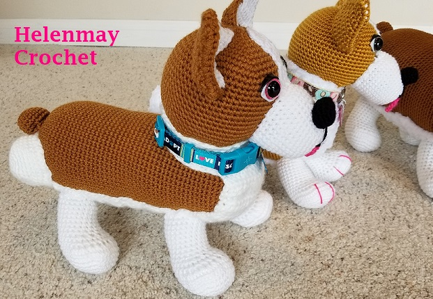 AMIGURUMI PATTERN/ tutorial (English) Amigurumi Jack Russell ... | 430x621