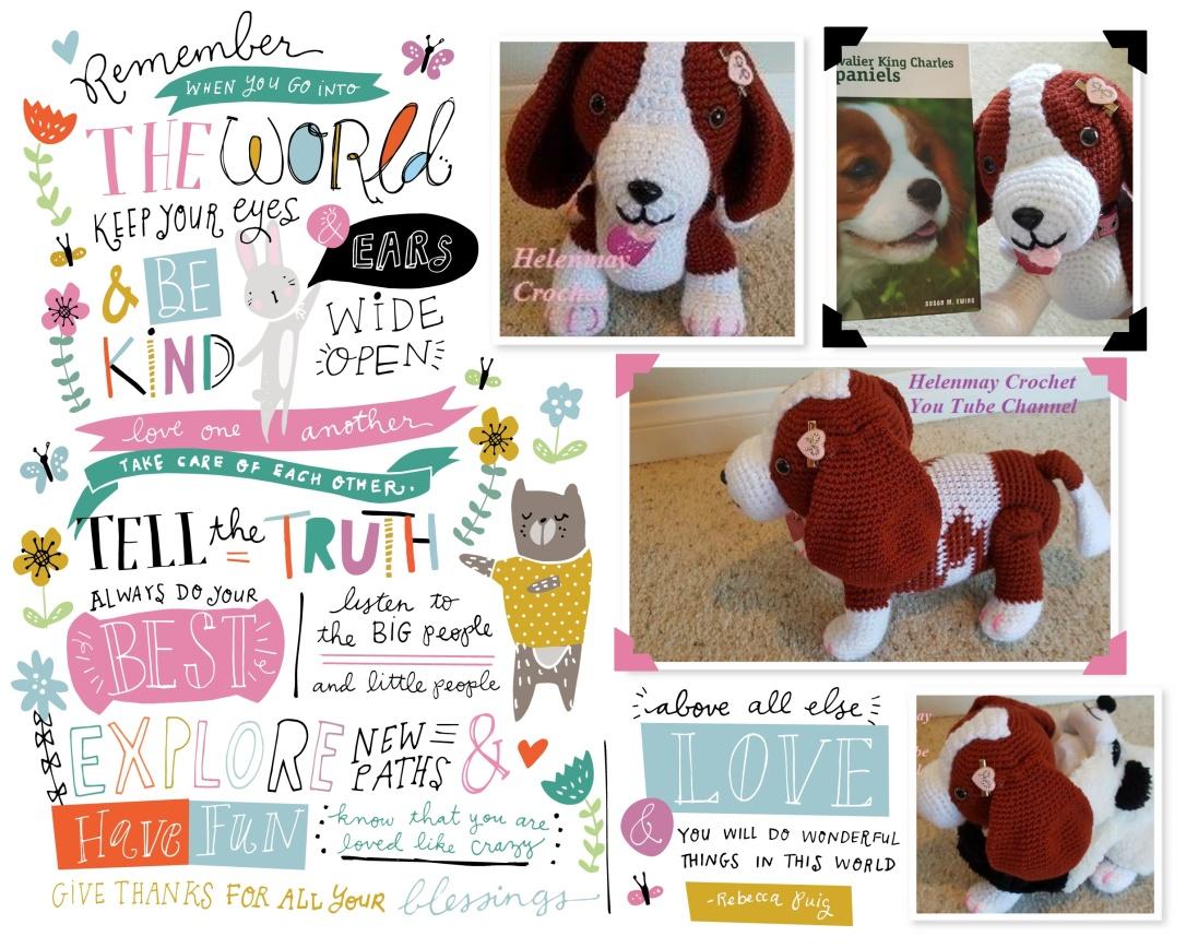 Crochet Cavalier King Charles Spaniel Dog.jpg