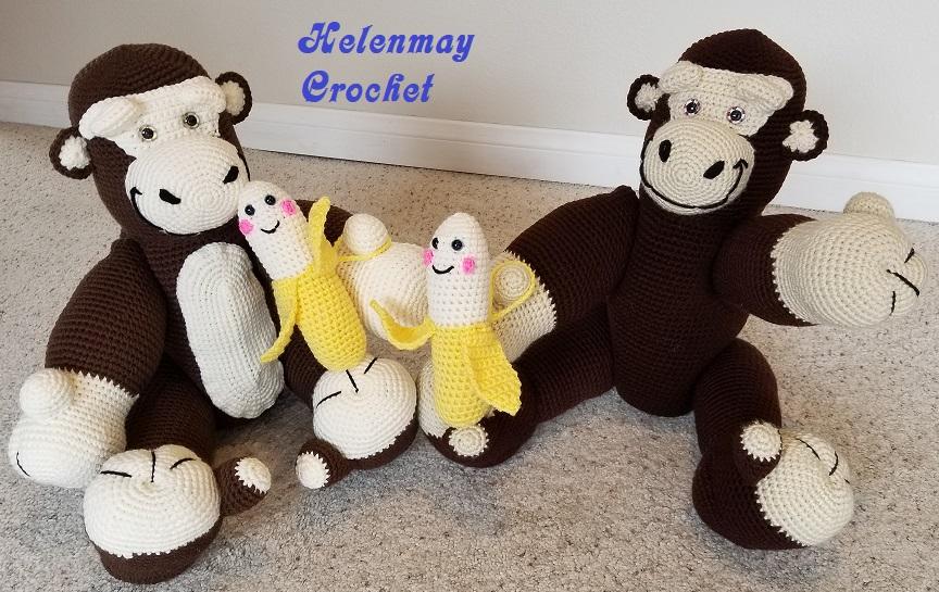 Crochet banana | Etsy | 545x864