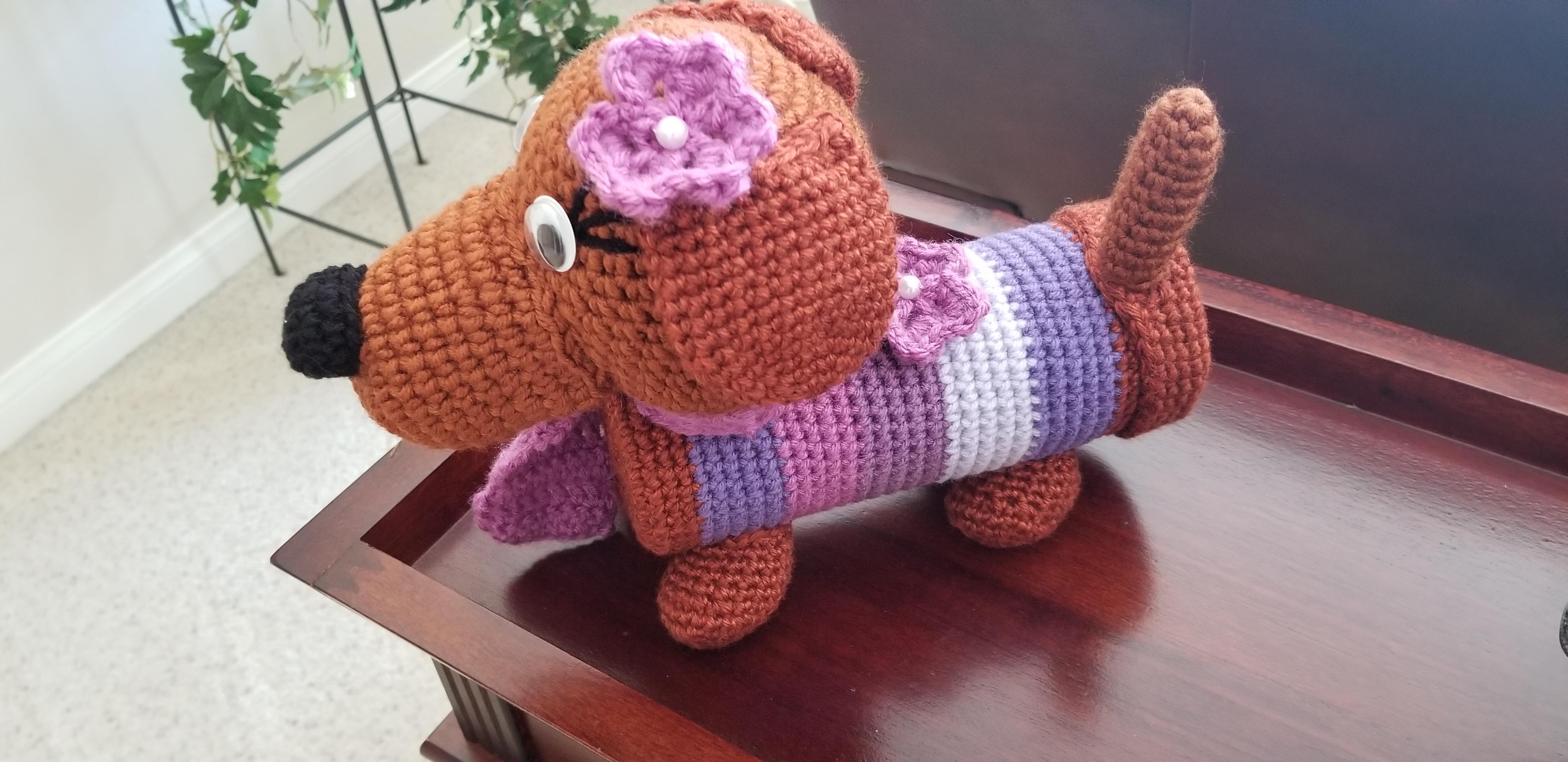 DIY Crochet Amigurumi Puppy Dog Stuffed Toy Free Patterns | 1960x4032