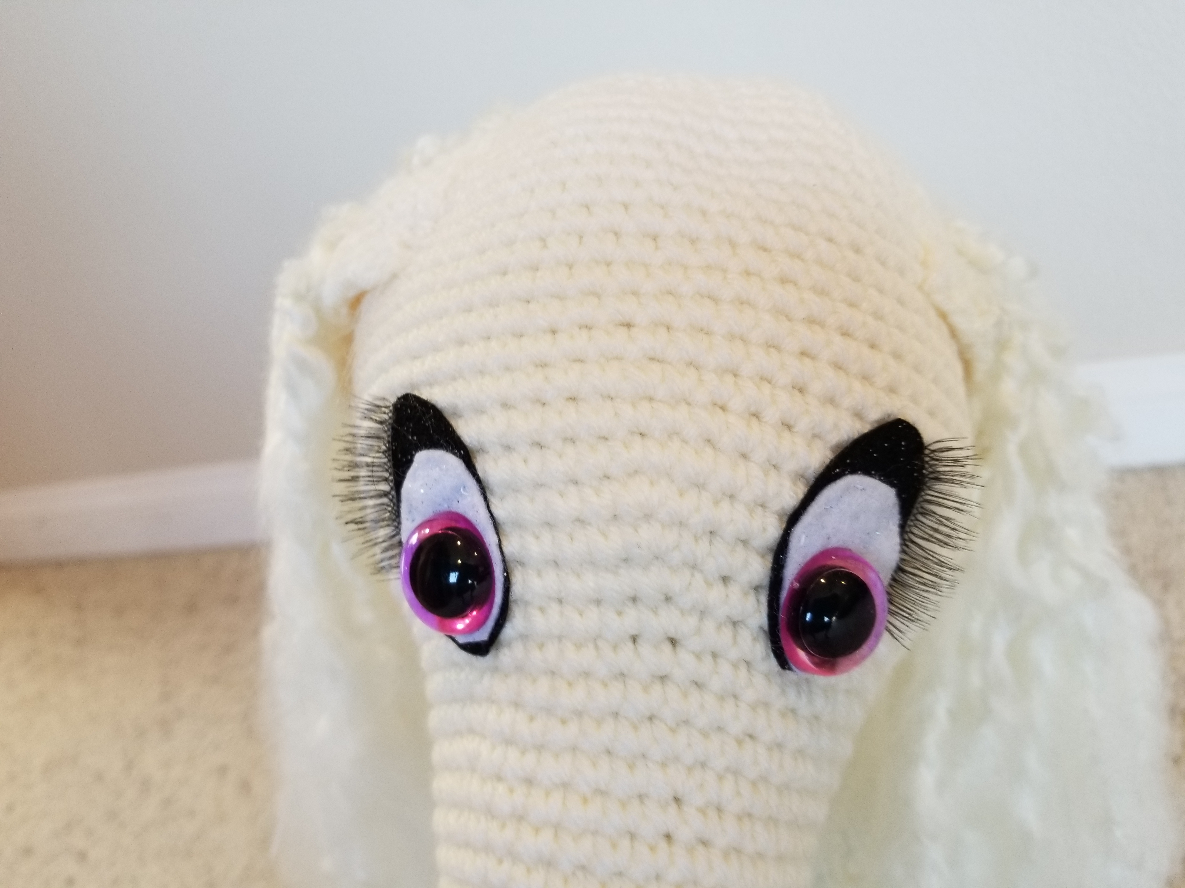 Placing safety eyes in amigurumi projects - YouTube | 3024x4032