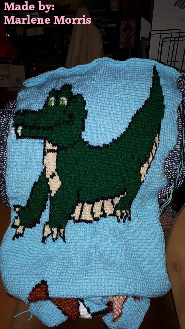 Marlene Morris crocodile