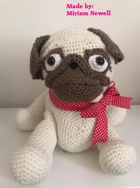 Miriam Newell Pug Dog