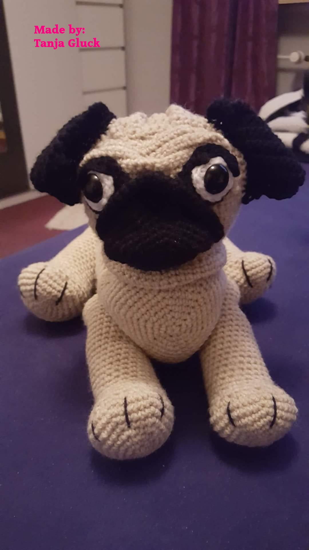 Tanja Gluck Pug Dog