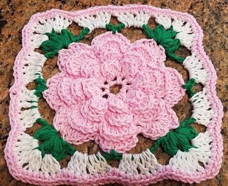 crochetbloomingrose